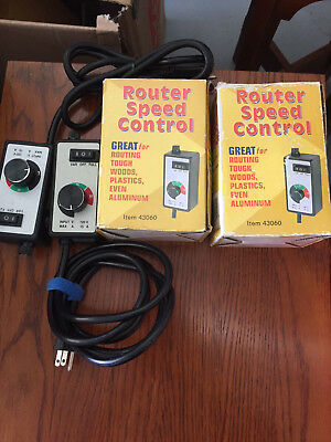 Lighting Dimmer / Speed Control Controller 120V 15 Amps / 4 Available