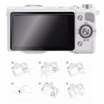 Protective Film Camera For Sony A6000 A6300 A6500 LCD Convenient PET Durable