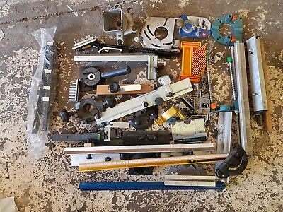 Job Lot Router Joinery WoodWork Spares Jigs Brackets Guides Fences Carpentry