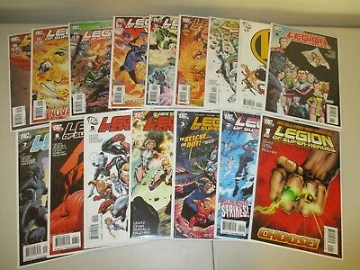 Legion of Super-Heroes #1-16 (Full 2010 DC Series)  VF/NM  ~Bagged & Boarded~