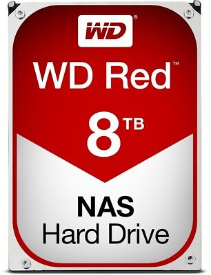 HDD WD Red WD80EFAX 8TB/8,9/600 NAS Sata III 256MB