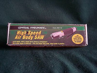Central Pneumatic High speed air saw New in Box 00113 Auto body Sheet metal