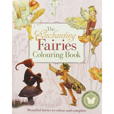The Enchanting Fairies Colouring Book (Paperback), Children's Books, Brand New