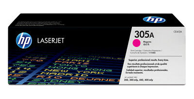 NEW HP CE413A Magenta Toner Cart 305A Genuine