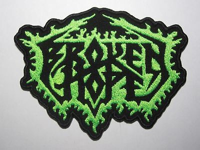BROKEN HOPE embroidered logo NEW patch death metal