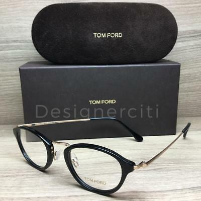 fc6be14cf845 TOM FORD TF 5321 TF5321 Eyeglasses Black Gold 001 Authentic 47mm ...