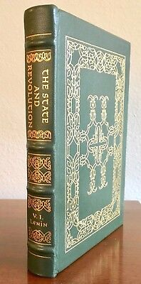 Easton Press. The State and Revolution by V.I. Lenin. Leather