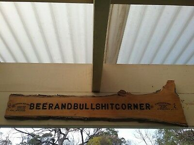 timber sign, beer, outdoor, barware