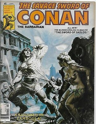 Savage Sword of Conan (1980 series) #58 in VF minus condition. Marvel comics