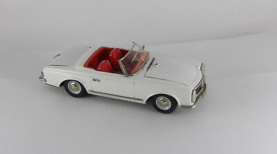 Antikspielzeug Schuco Real 5500 - Mercedes 230SL Pagode Cabriolet