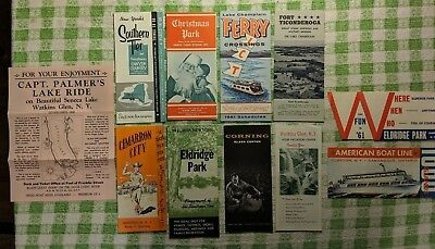 Vintage Vacation Brochures of the Southern Tier New York State
