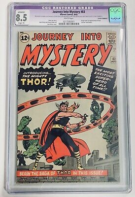 Journey Into Mystery #83 ~ CGC 8.5 ~ 1st Appearance Thor! ~ Marvel