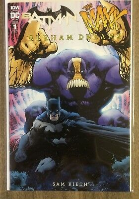 Batman the Maxx Arkham Dreams #1 Jim Lee 1:25 Variant NM