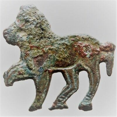 Scarce Circa 300-400Ad Roman Legionary Fitting In The Form Of A Lion