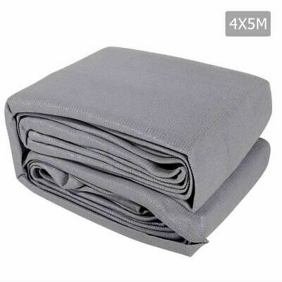 4 x 5m Rectangle Shade Sail Cloth - Grey