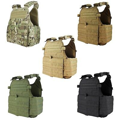 Condor MOLLE PALS Operator Plate Carrier Body Armor Chest Assault Rig Vest MOPC