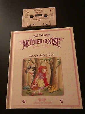 The Talking Mother Goose Fairy Tales Book And Tape Little Red Riding Hood