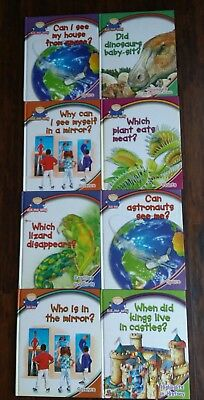 ASK ME WHY Lot 8 Southwestern Hardcover Homeschool Science Books Set