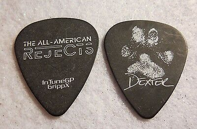 GUITAR PICK Tyson Ritter - All American Rejects - 2012 Tour guitar pick b    QZ