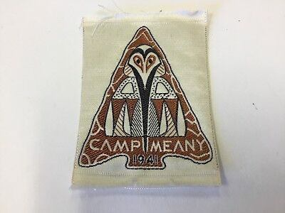 Camp Meany 1941 Silk Patch-Chief Seattle Council