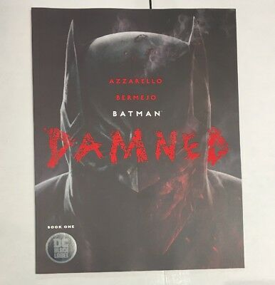 Batman Damned 1 Cover A First Print Uncensored DC Comics 2018