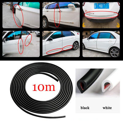 0D1C 10M Car Auto Door Edge Protector Sealing Strip Seal With Adhesive Car Styli
