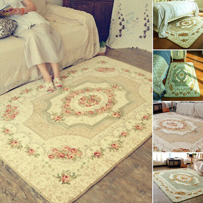 125D European Carpet House Rugs Door Mat Carpets Decoration Plants Flowers Patte