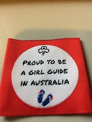 Girl Guides / Scouts Proud to be a Girl Guide in Australia