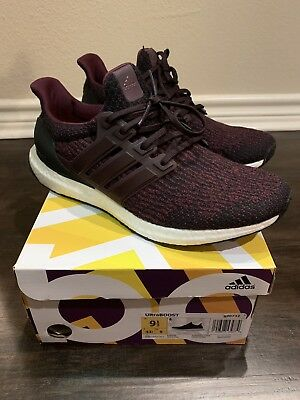07ce57c0416 ADIDAS ULTRA BOOST 3.0 Dark Burgundy S80732 sz 9.5 -  114.95