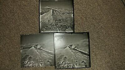 Lot of 17 Mount St. Helens Before/During/After Eruption Aerial Photos 1980