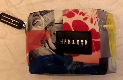Hayward Denim JetBlue Mint's Amenity Kit Makeup Case w Hudson Made Morning Shift