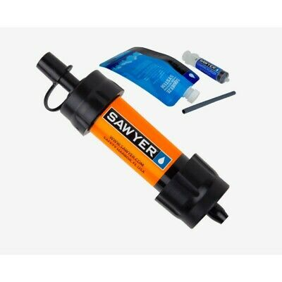 (Express Shipping) 4 x SAWYER SP103 ORANGE MINI WATER FILTER (FOC Extra Pouch)