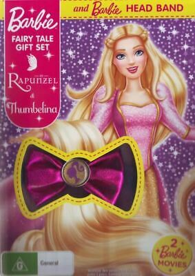 Barbie: Fairy Tale Pack (As Rapunzel & Thumbelina) (BONUS Headband)