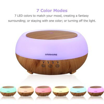 300ml Ultrasonic Humidifier Essential Oil Aroma Diffuser Aromatherapy Purifier