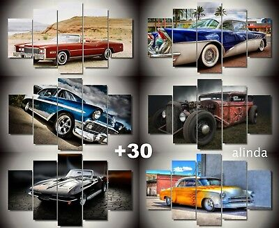 canvas prints of classic cars muscle classic custom retro old antique vintage