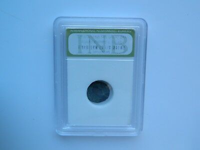 CONSTANTINE THE GREAT ANTIQUE COIN, Circa 300 A.D. In a plastic case