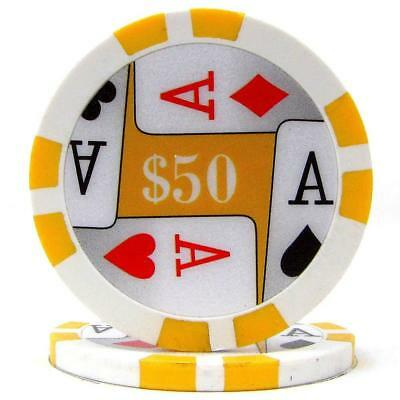 Trademark Poker Premium 4 Aces Chips