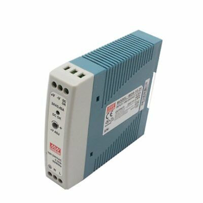 MDR-20 20W Single Output 5V 12V 15V 24V Din Rail Switching Power Supply AC/DC