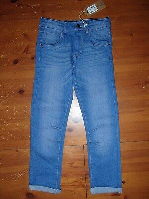 NEW QUALITY Boys Blue Jeans Pants  - Size 4 - BNWT