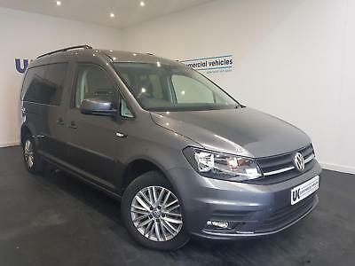 Volkswagen Caddy Maxi LIFE Wheelchair Accessible vehicle WAV 5 Seats *NOW S0LD*