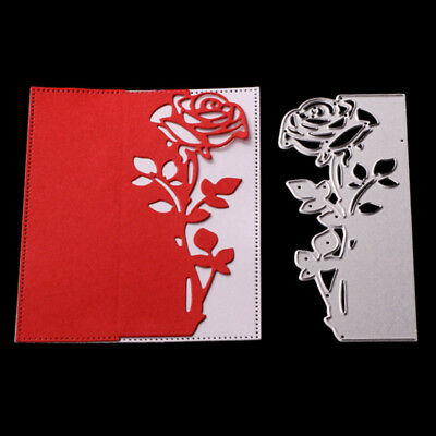 Rose Metal Cutting Dies Scrapbooking Paper Card Craft Die Scrapbooking Gift