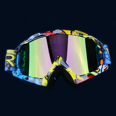 Helmet Motocross Off Road Goggles MX MTB Googles ATV Vented Protection Racing UK