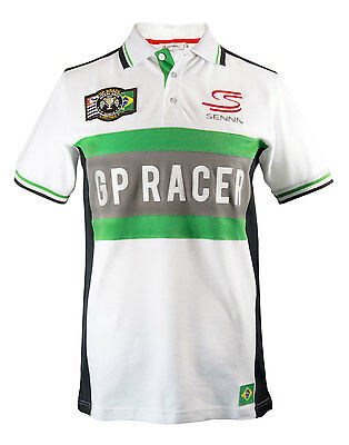 Polo-Shirt Maglietta Ayrton Senna Polo Interlagos