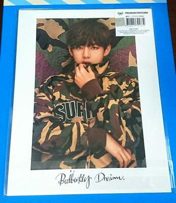 BTS V TAEHYUNG Premium Postcard Butterfly Dream Exhibition official photocard