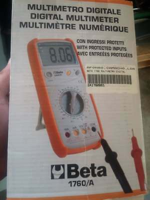 Beta Tools 1760/A Industrial Digital Multimeter