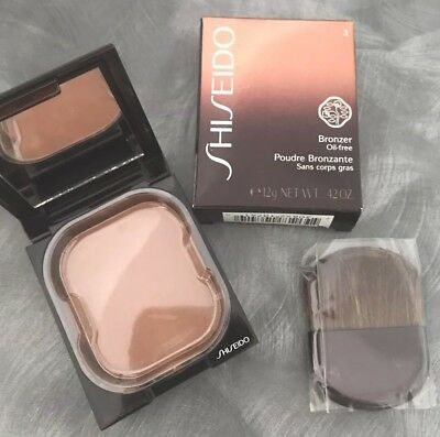 shiseido makeup bronzing powder compact bronzer dark 03 brand new full size 12g