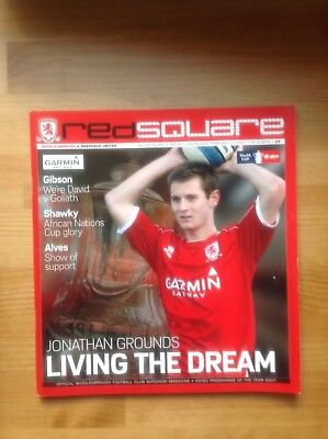 MIDDLESBROUGH v SHEFFIELD UNITED  FA Cup Round 5 REPLAY 2006/07