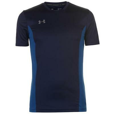 Under Armour Mens Challenger II Navy/Blue Training T Shirt - Size: Small