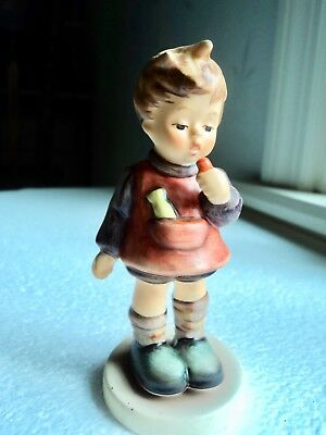 """Hummel figurine """"Delicious"""" 3 3/4 in First issue #1988"""