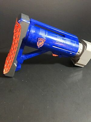Nerf N-Strike Shoulder Stock in Blue for Raider CS-35 Gun Adjustable